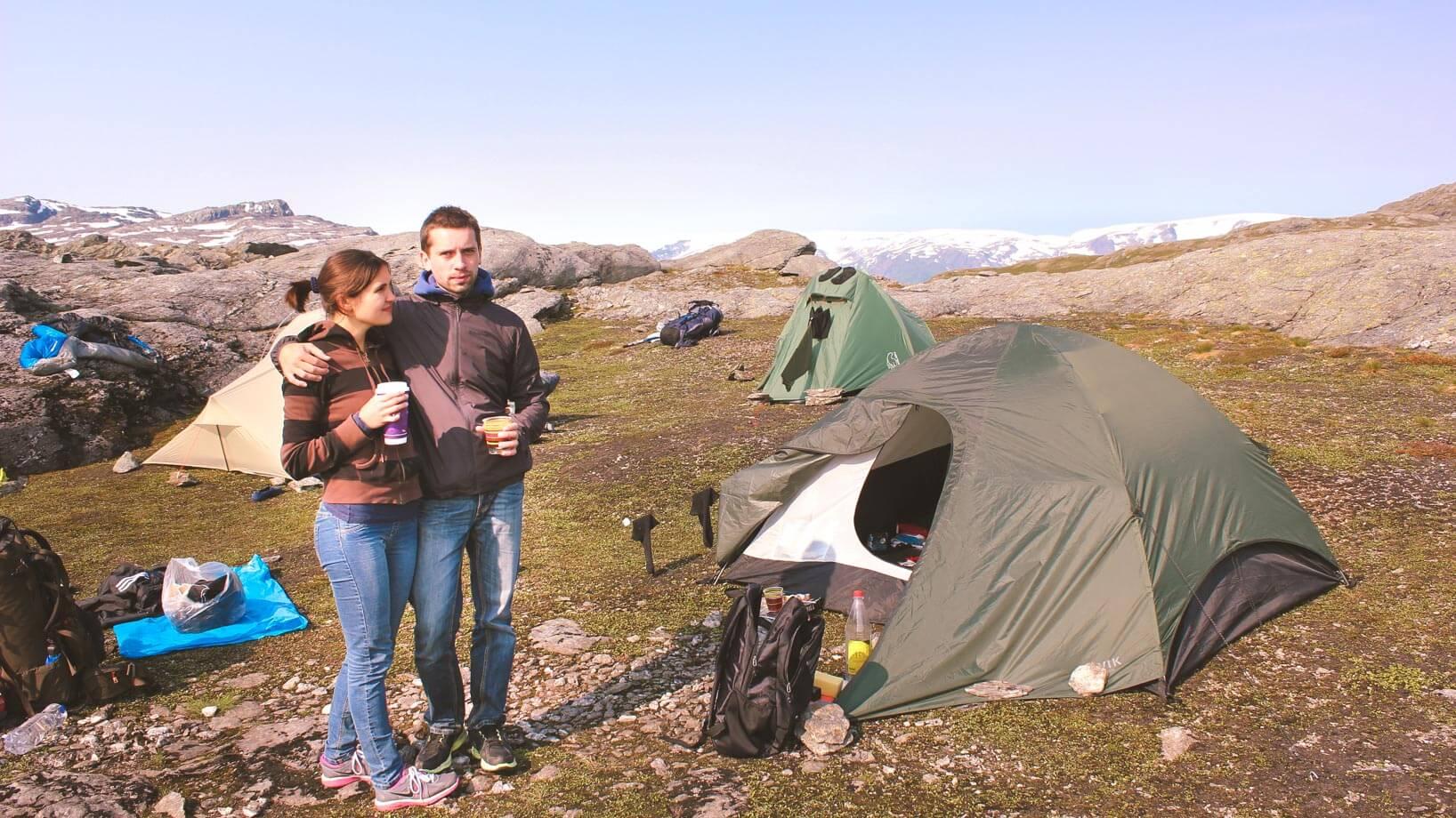 Trolltunga Hike Guide - Trolltunga camping overnight