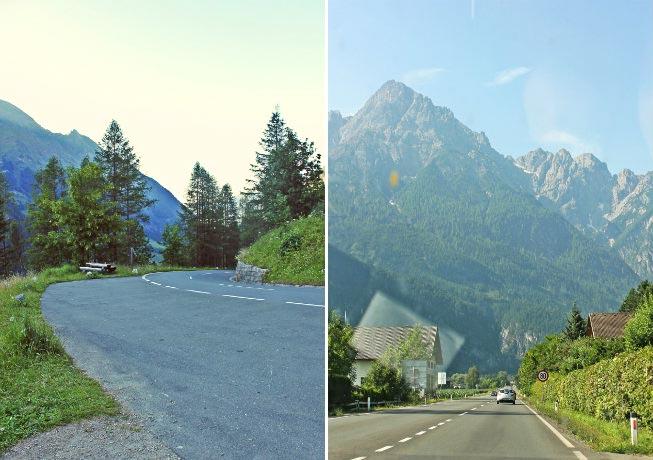 Austria roads
