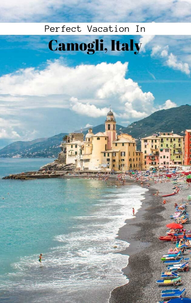 spend a perfect Vacation in fishing village Camogli Italy? Camogli is a small village in Genoa region of Northern Italy. Visit San Fruttuoso di Camogli monastery to see the Christ of the Abyss underwater statue. #Camogli #Italy #SanFruttuoso