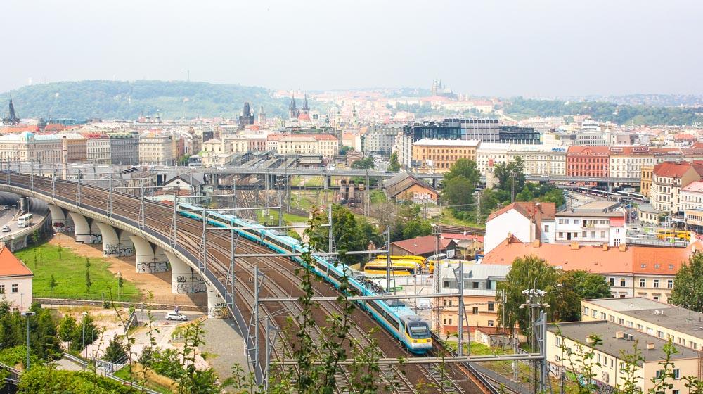 Prague Tower park view