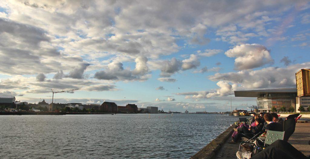 Copenhagen in summer - Papiroen