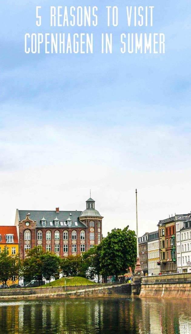 Copenhagen in summer