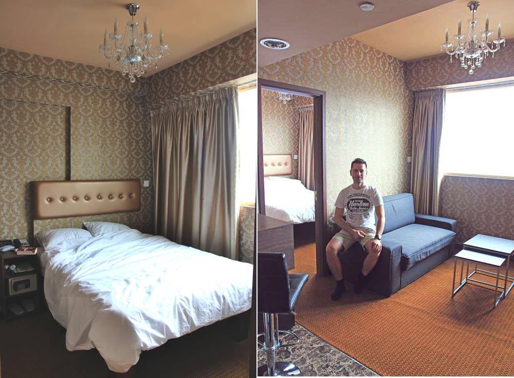 Hotel Room Hong Kong
