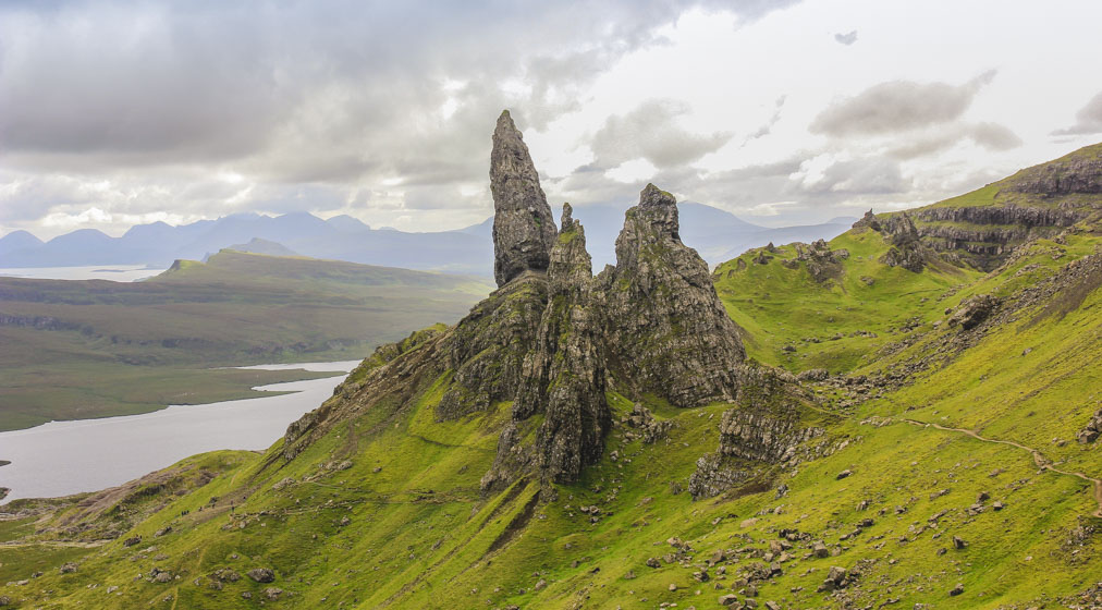 Scottish Highlands - old man of storr