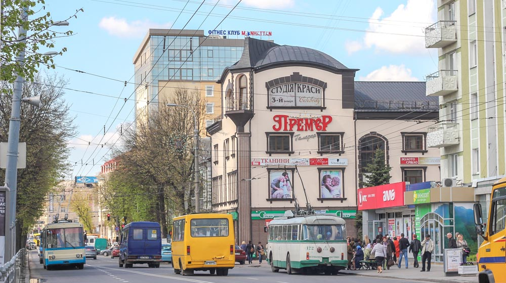 Things to do in Rivne by a local, do not skip the vintage trolleybus in Rivne