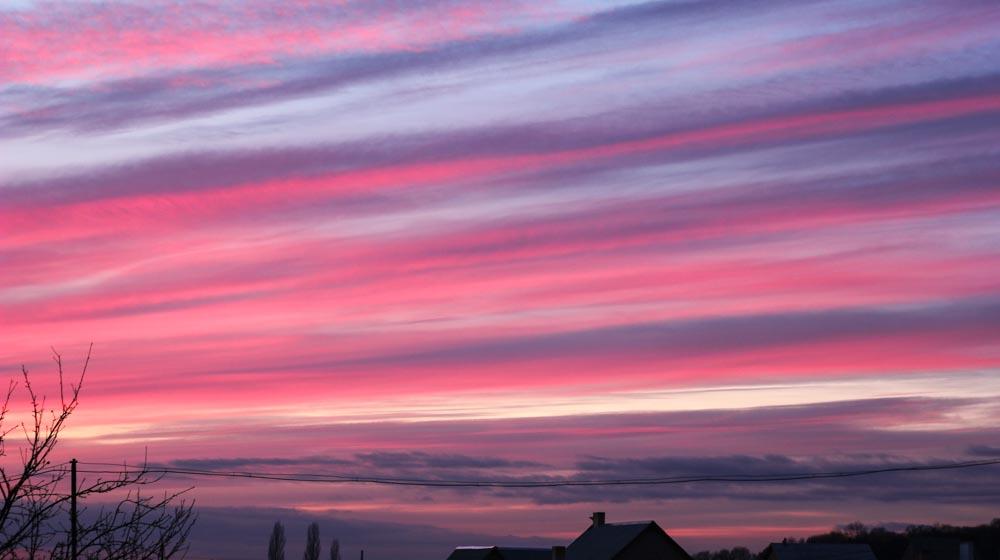 sunset in Rivne, Things to Do in Rivne, Ukraine