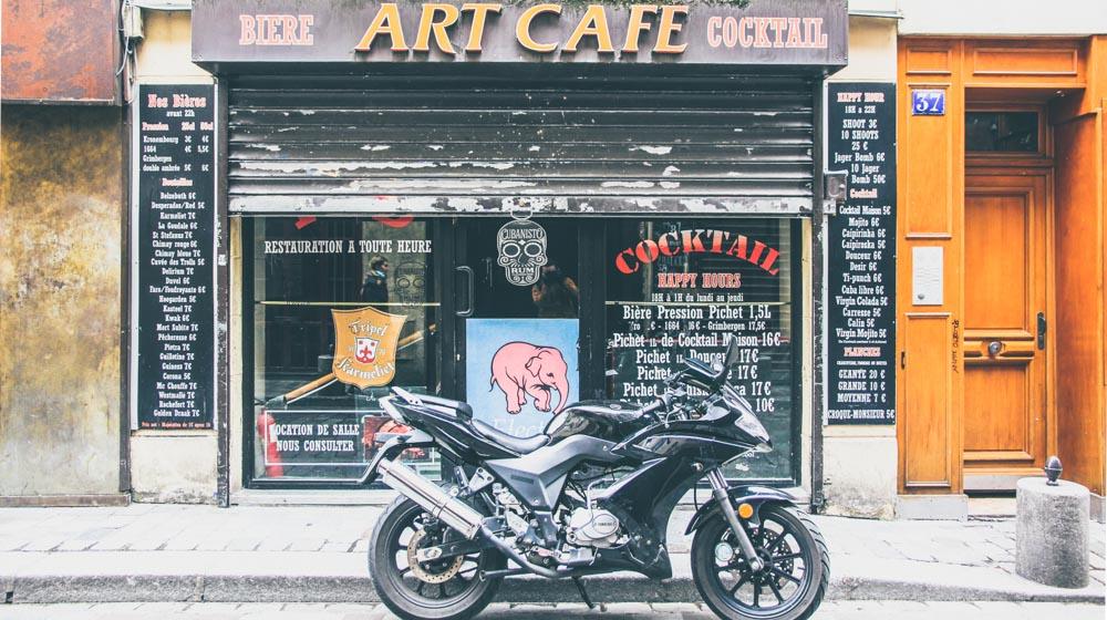 Rue de Lappe Art Cafe