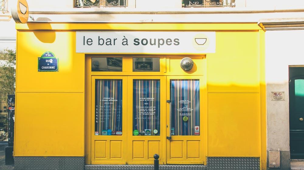 Soupe bar