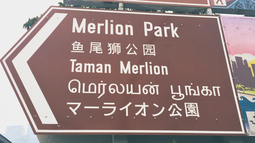 Singapore sign in 5 languages