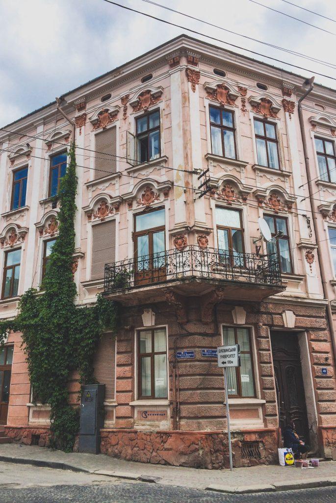 chernivtsi buildings