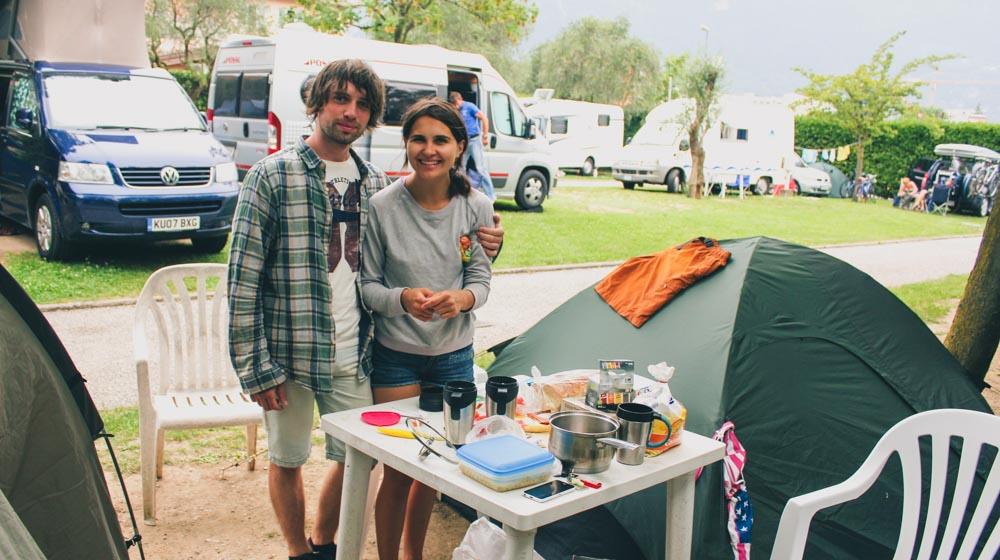 europe road trip camping