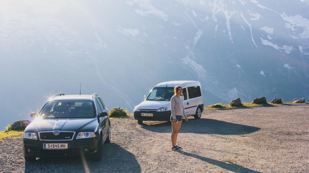 europe road trip cars