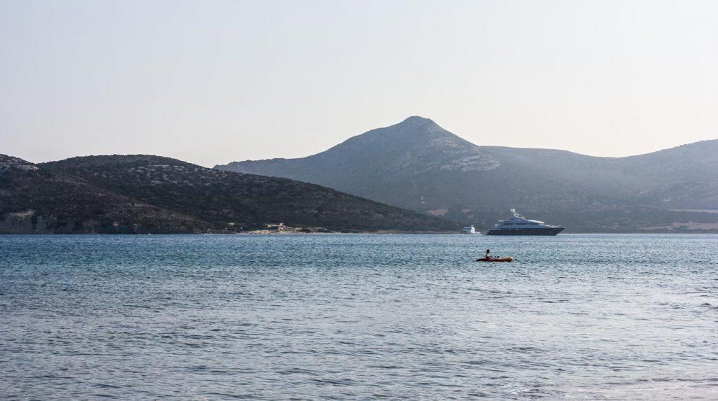 greek island holiday - Aegean sea in the morning