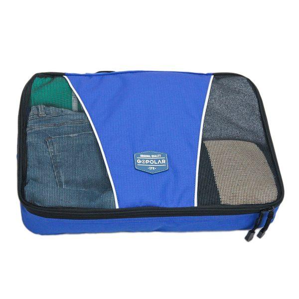 Blue Travel Cube L