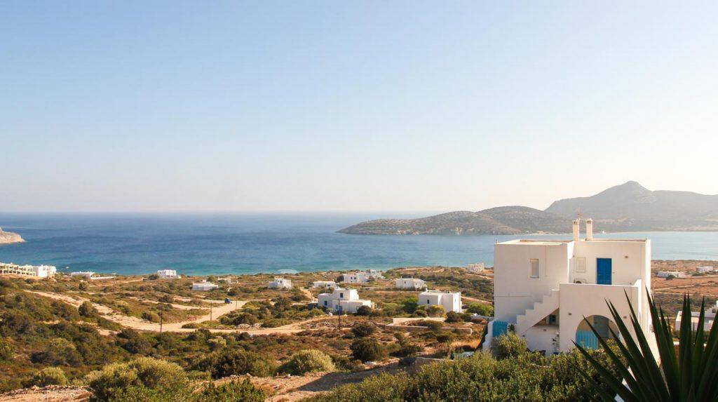 greek island holiday - antiparos views