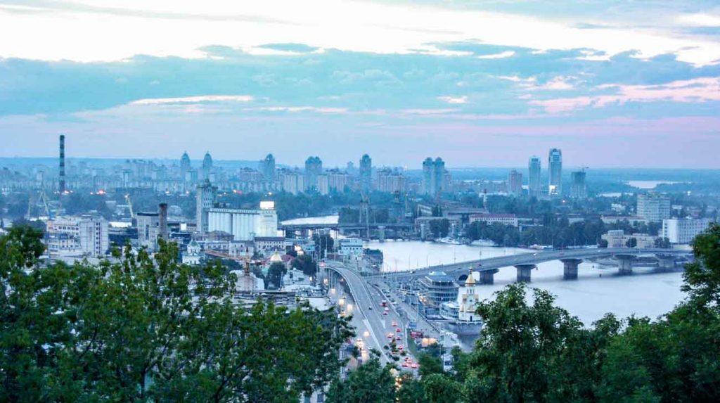kyiv city view