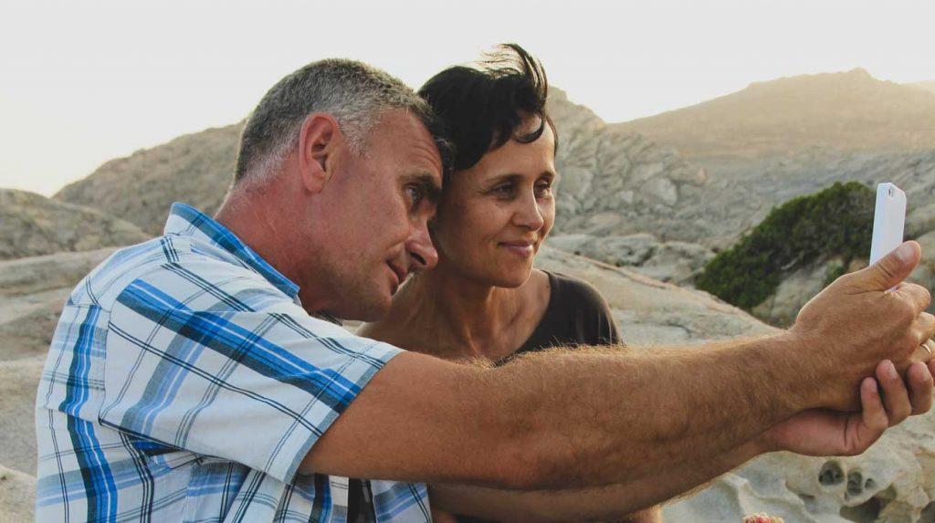 travel with parents parents selfie
