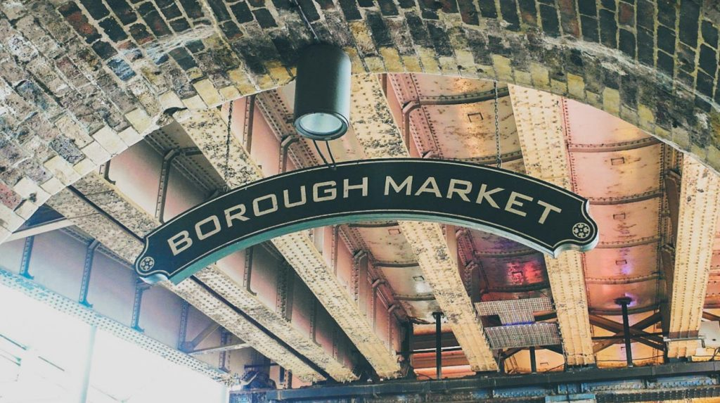 London Food Spots - borough-market