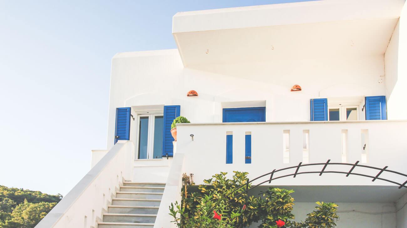 Paros Island - Lefkes village in Paros