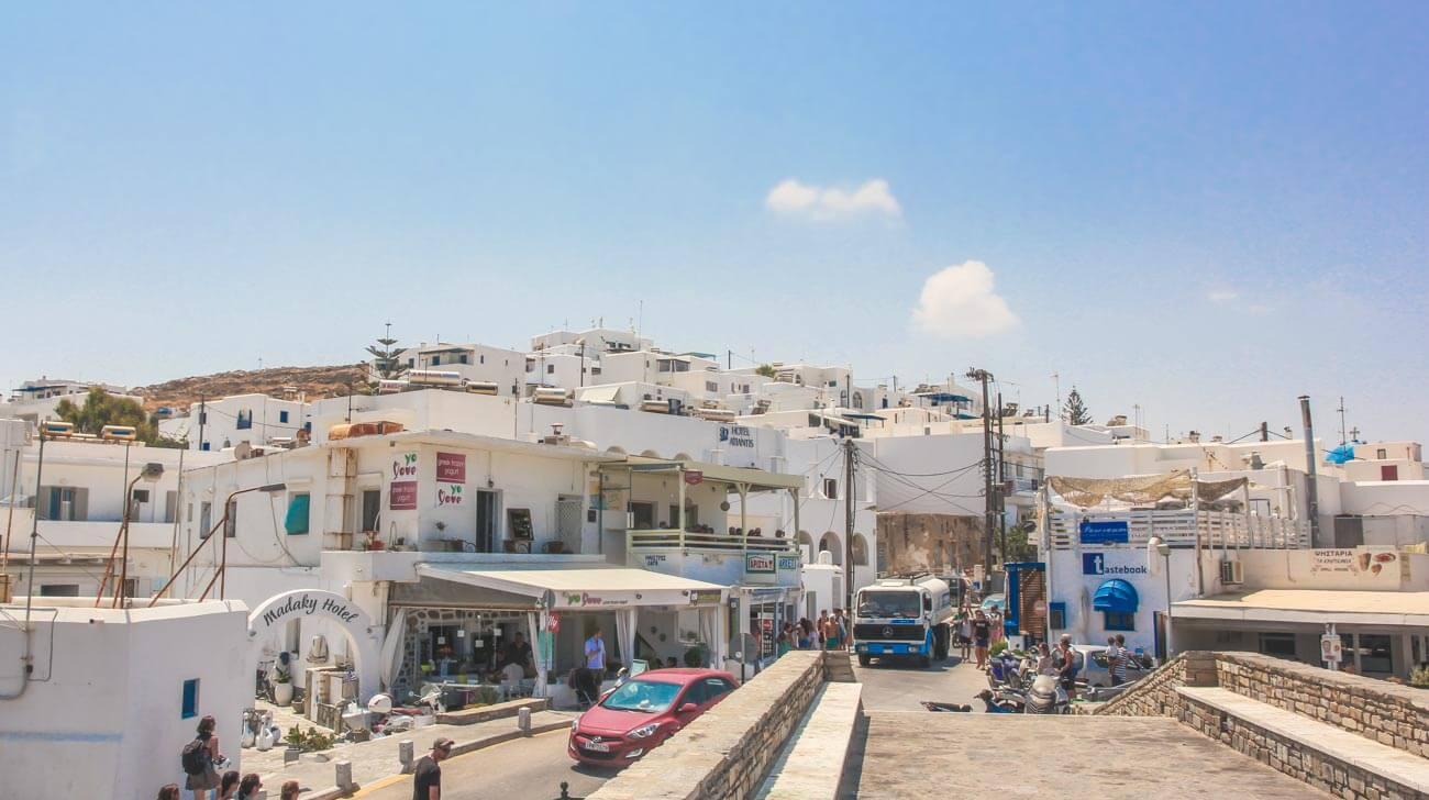 What to do in Paros Island, Greece - Naoussa center