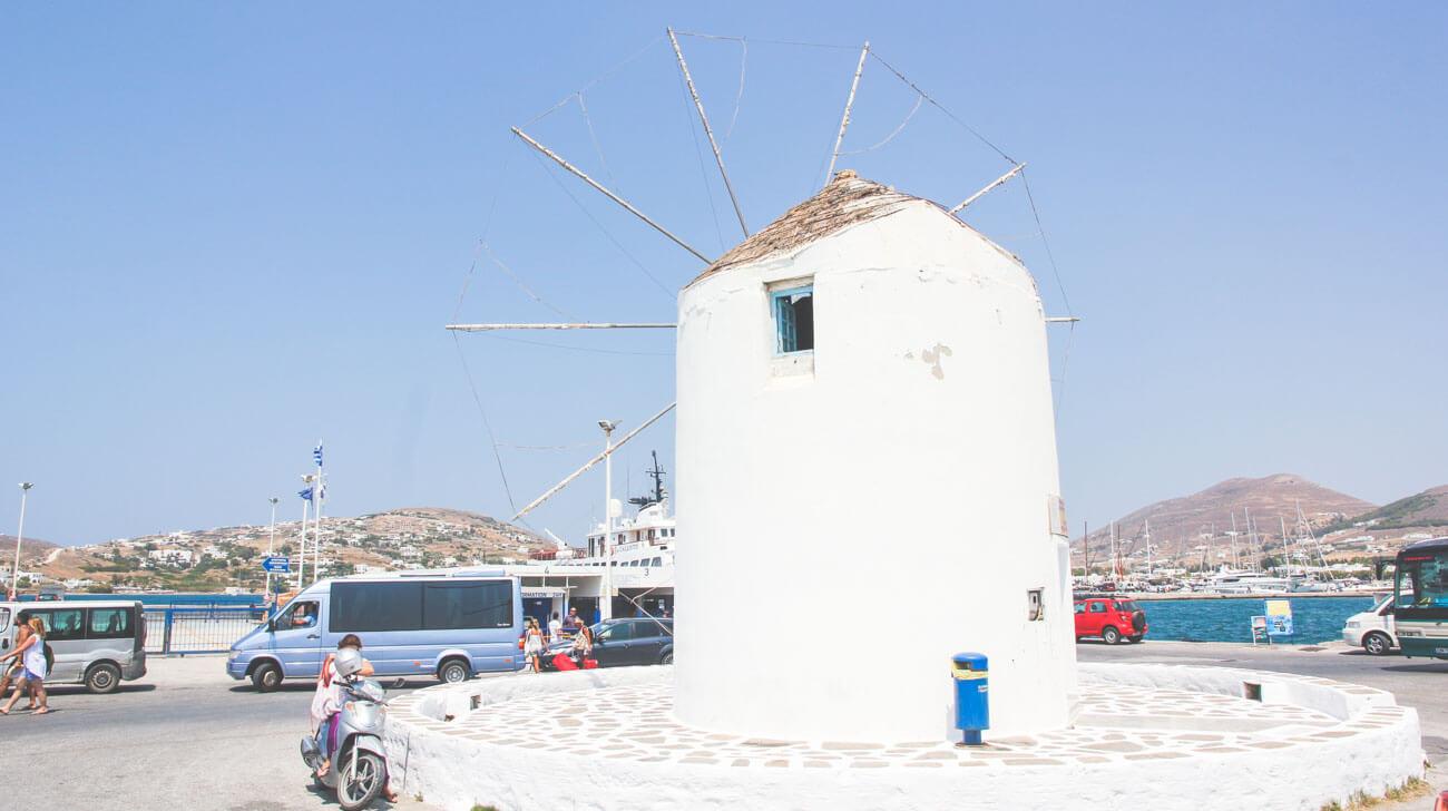 Paros Island - Parikia windmill