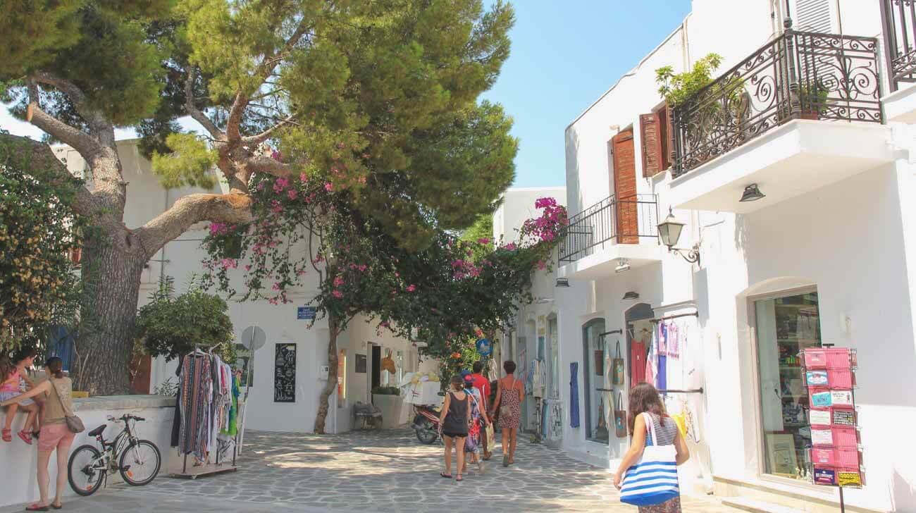Paros Island - Parikia streets