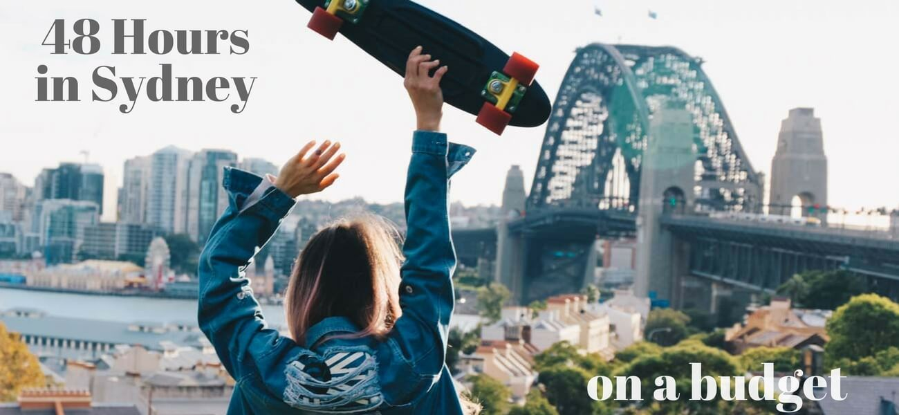 48 hours in Sydney on budget