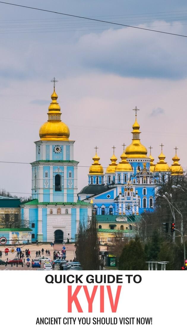 St. Michaels Church, Kyiv Ukraine travel