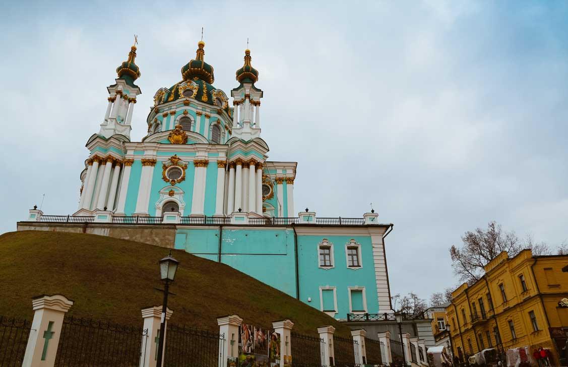 St. Andrew's church - Kyiv