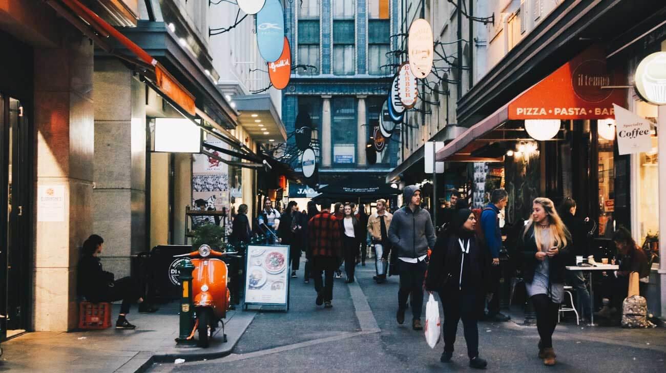 Melbourne Degraves Lane