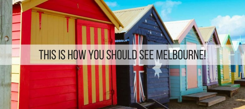 This is how you should see Melbourne!
