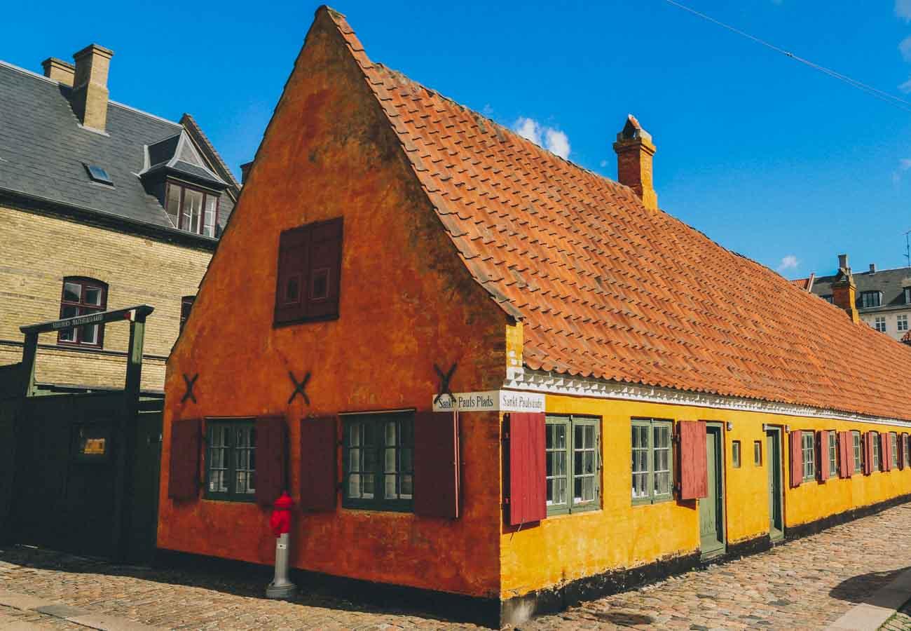 Instagrammable places in Copenhagen Sankt Pauls Plads