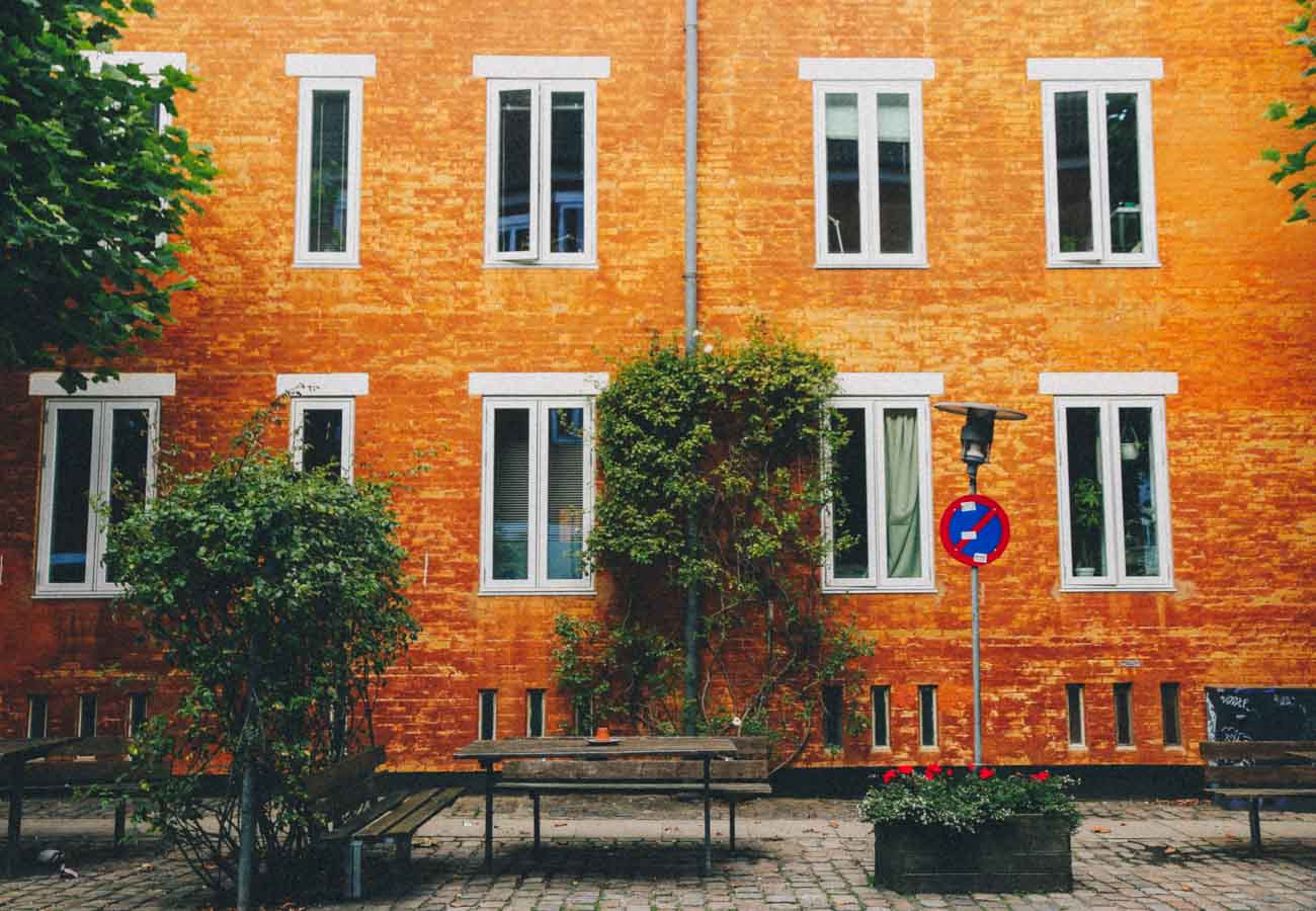 Instagrammable places in Copenhagen Rosengade-2