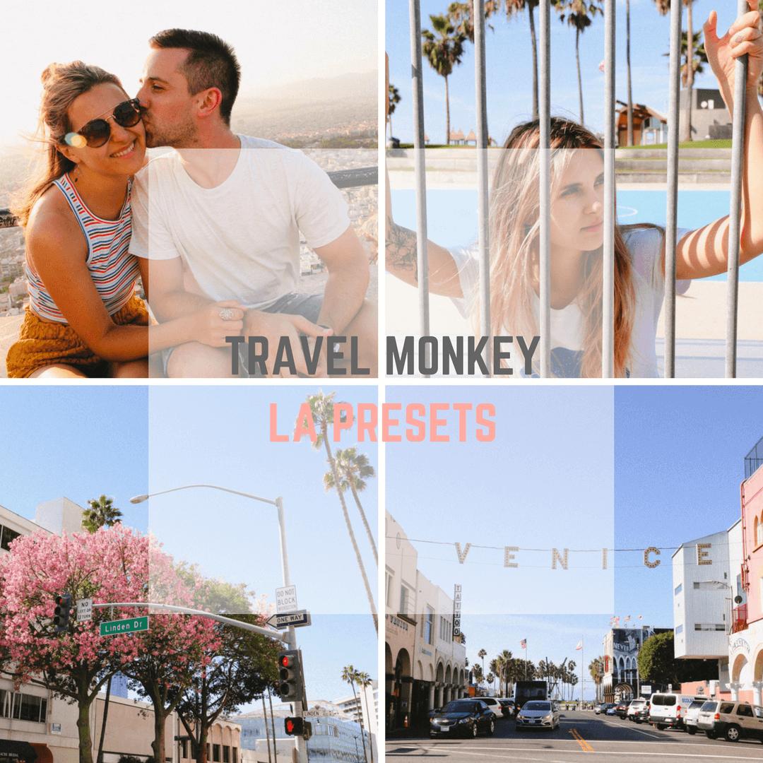 Travel Monkey Lightroom presets