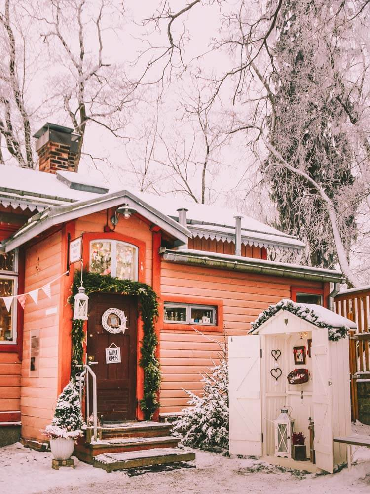 Tallipiha Stable Yards. Things to Do in Tampere on a winter holiday in Finland