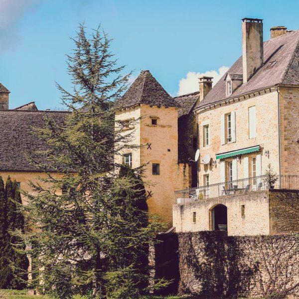 Dordogne Villages in Southwest France Cover page