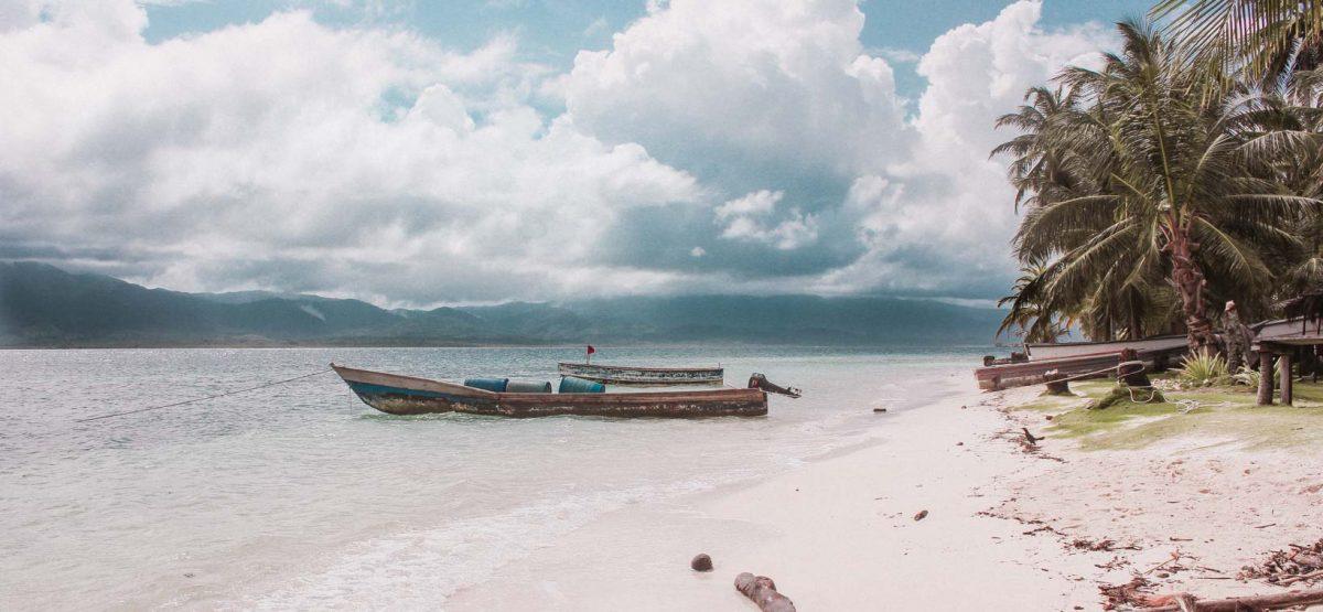 San Blas Islands Pelican island_