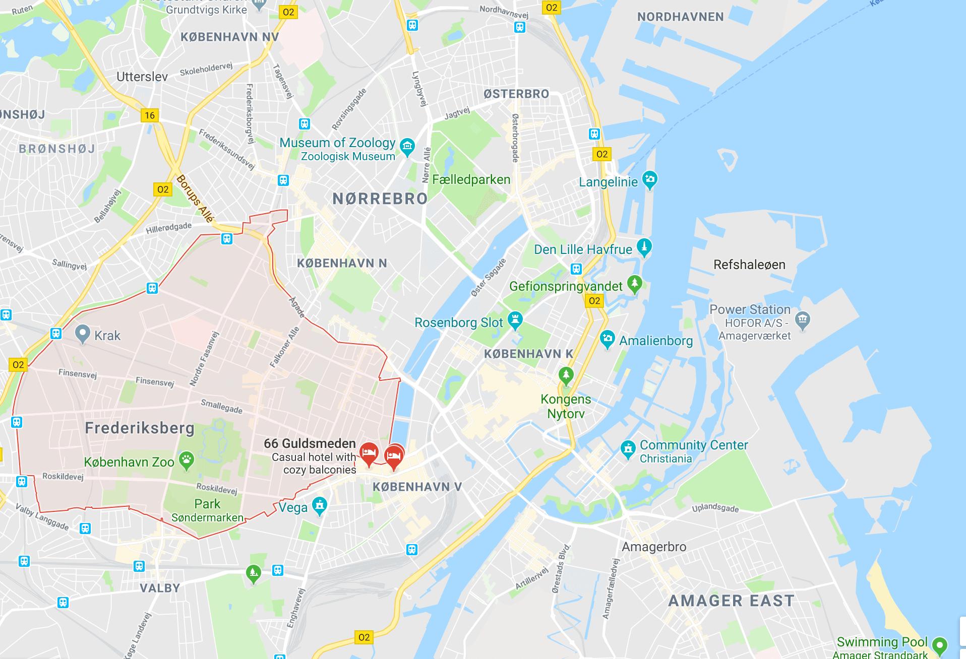 Frederiksberg, Comprehensive Guide to Copenhagen on a Budget