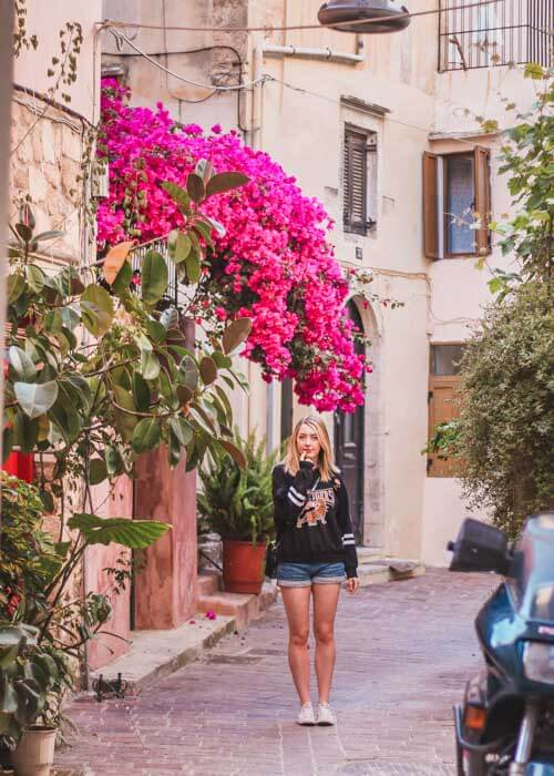 Crete Flowers. Why Crete is Perfect for Girlfriend Weekend Getaway--3