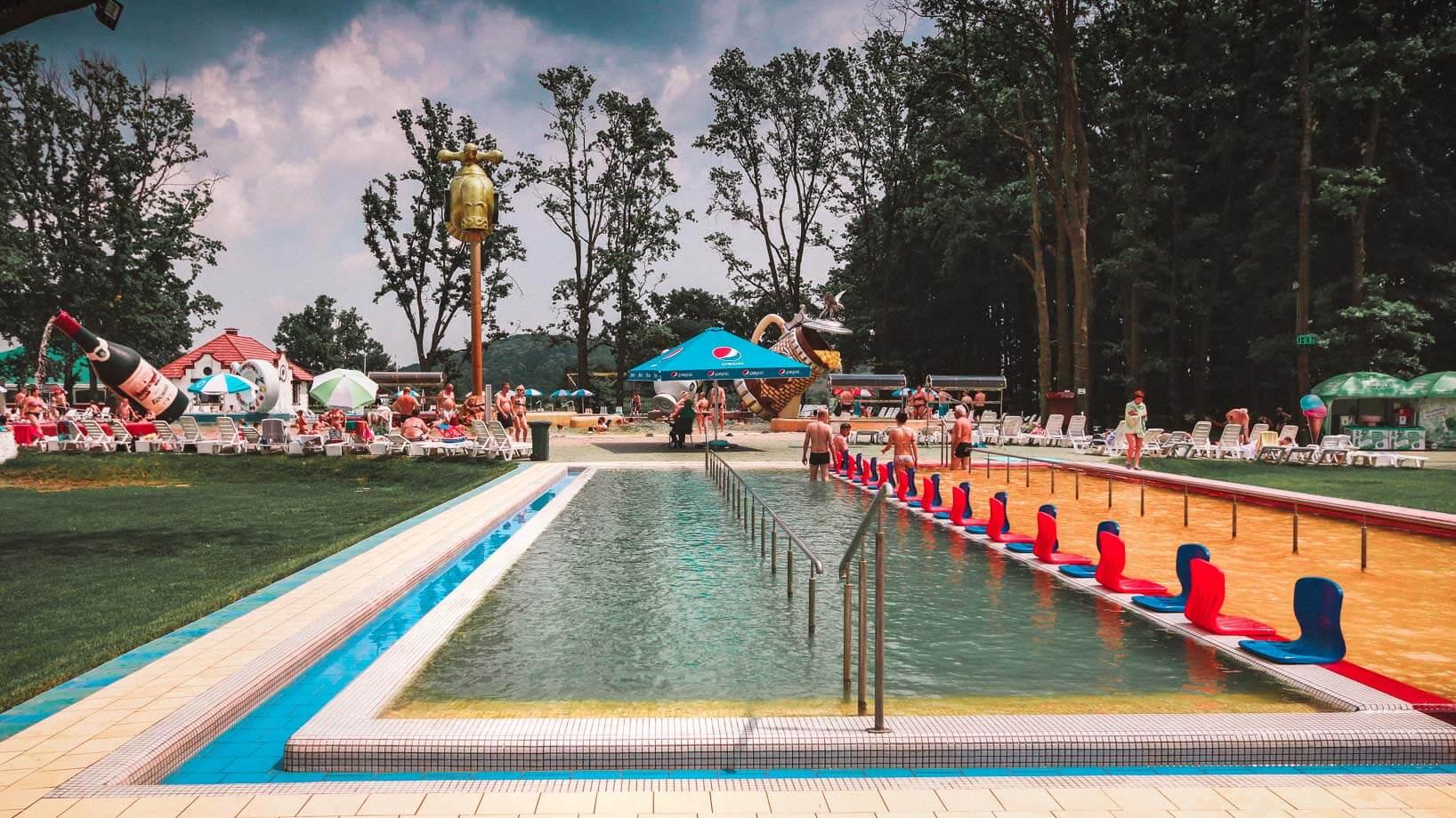 Ying Yang pool, Thermal Waters Kosino in Carpathians might be the Best Ukraine Spa