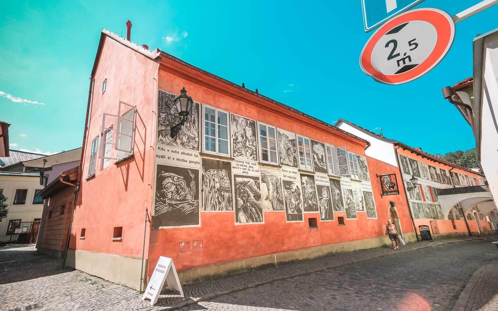 Josefa Váchala street - Visit Litomysl in Czech Republic