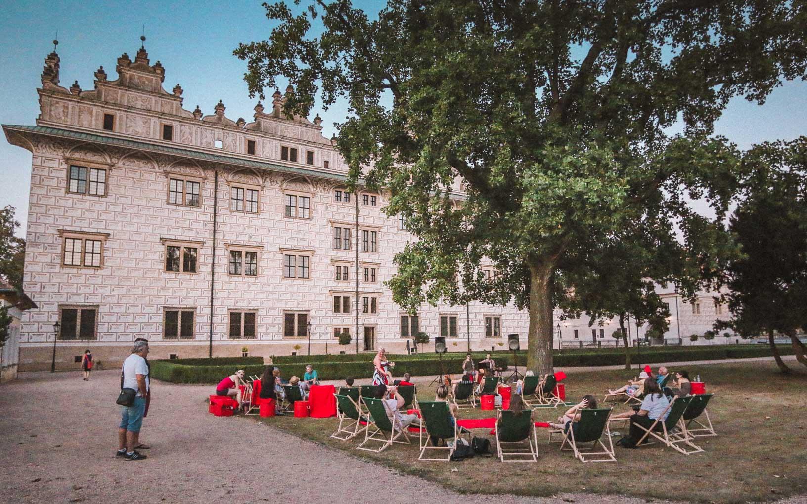 Litomysl castle garden - Visit Litomysl in Czech Republic