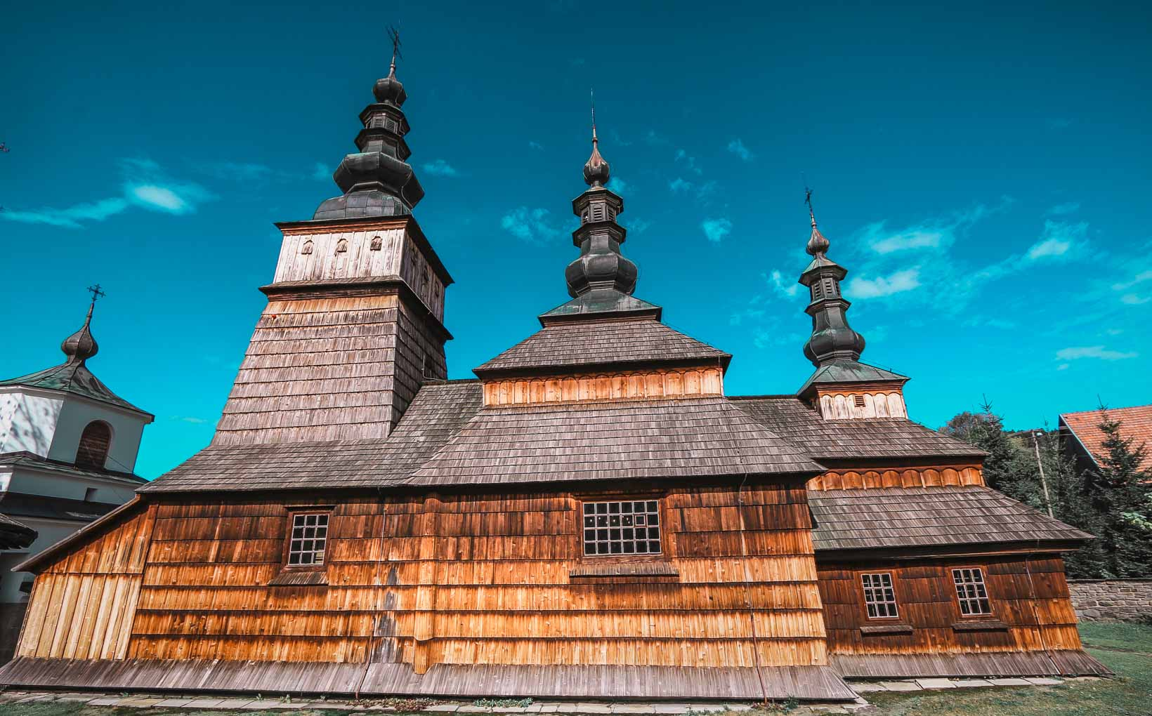 Owczary Wooden Church. The City of Light Gorlice- a Perfect Base for Exploration of Beskid Niski Mountains-2