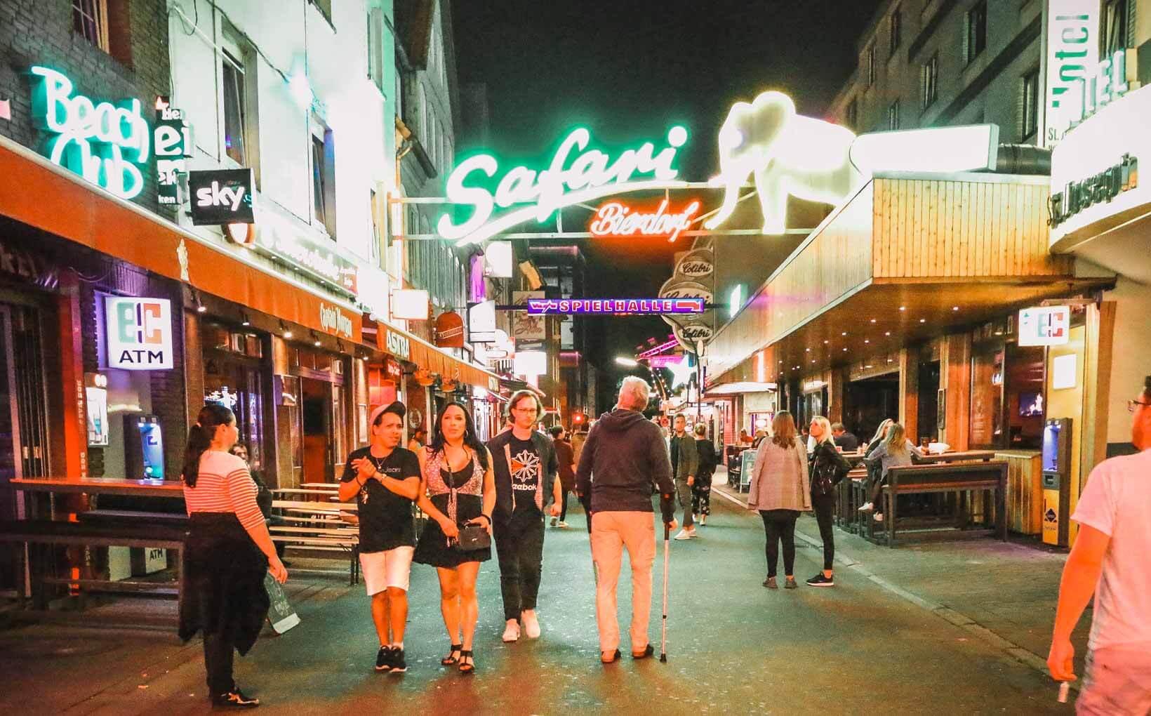 Reeperbahn street. How to Visit Reeperbahn Clubs Festival Like a Pro