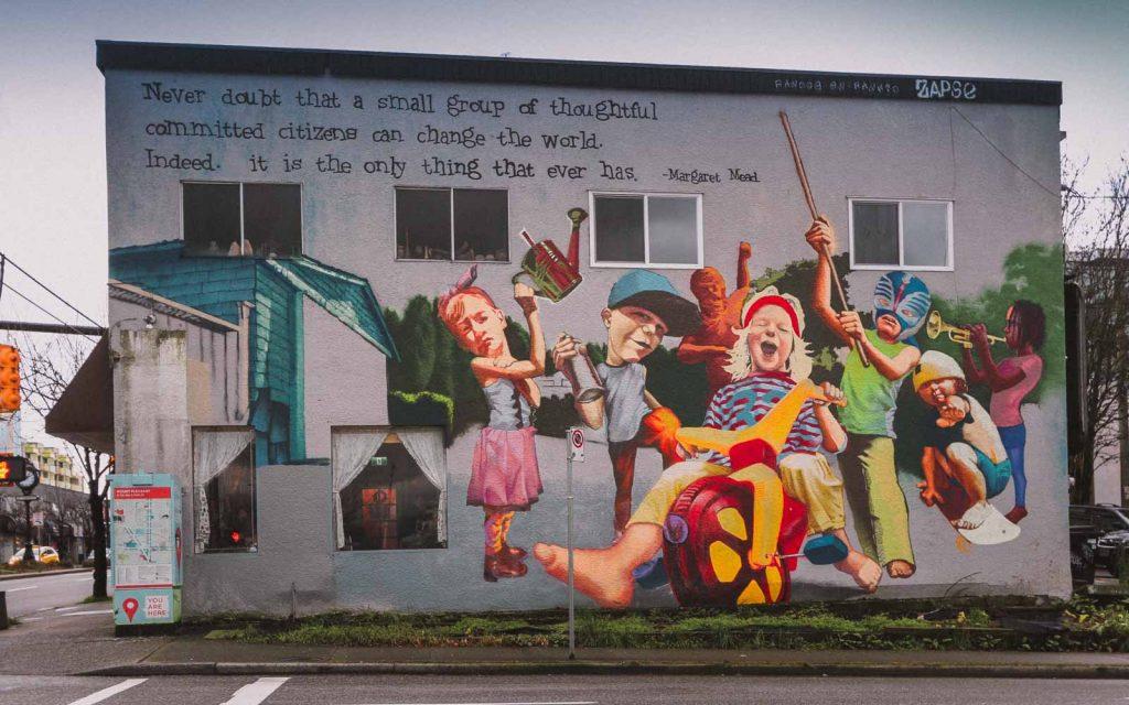 Vancouver street art, Mount Pleasant