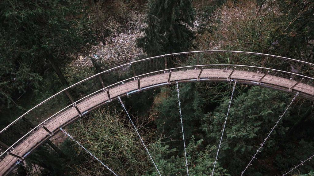 Cliff Walk at Capilano Suspension Bridge Park