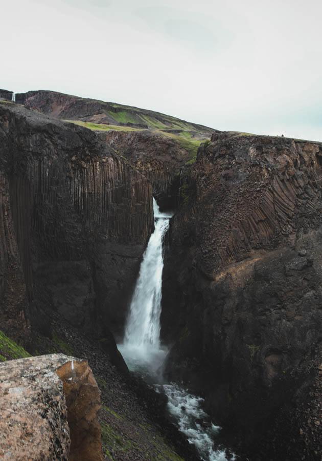 Litlanesfoss-waterfall-Iceland-road-trip
