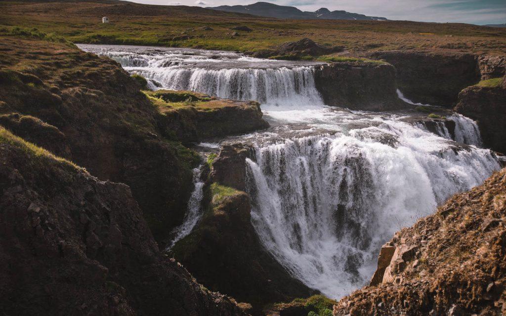Reykjafoss-waterfall-Iceland-2