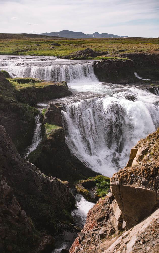 Reykjafoss-waterfall-Iceland-3