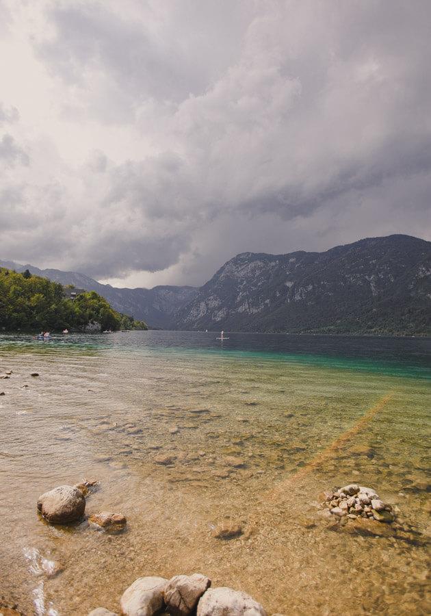 Slovenia-Itinerary-lake-Bohinj-in-summer